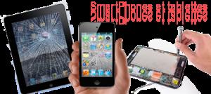 Dépannage et réparation de tablette et smartphone